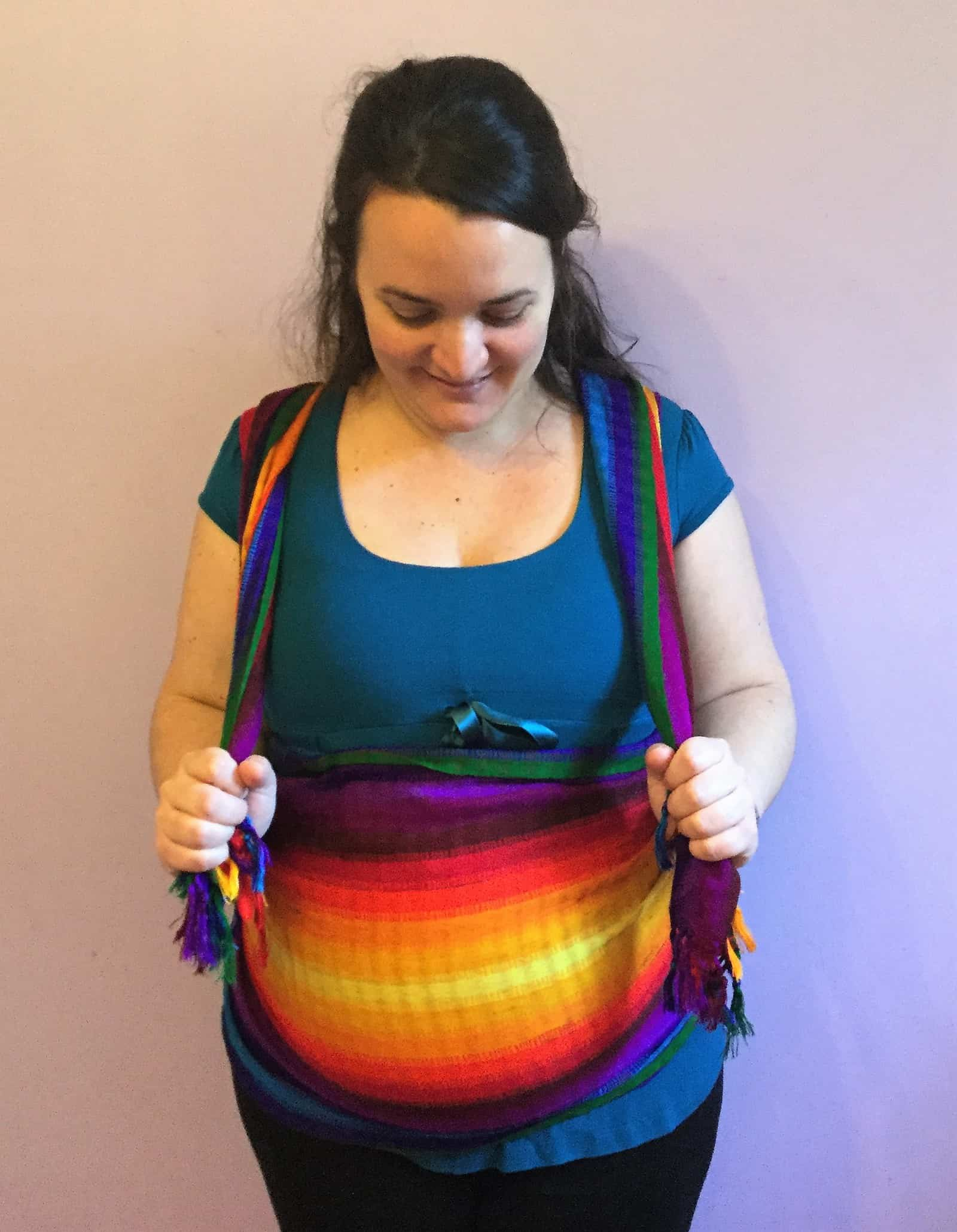 Why a rebozo, shawl or scarf might be the most powerful tool in your toolbox