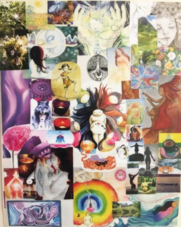 The vision board, an alternative way to plan what you want