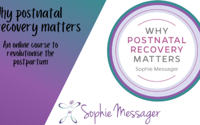 Why postnatal recovery matters online course: what's so special about it?