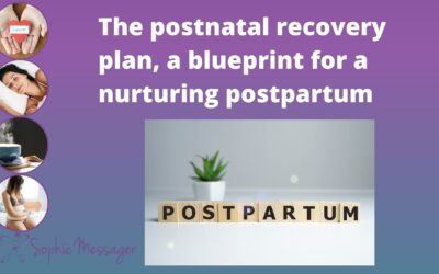 You've heard about a birth plan, but have you heard of a postnatal plan?