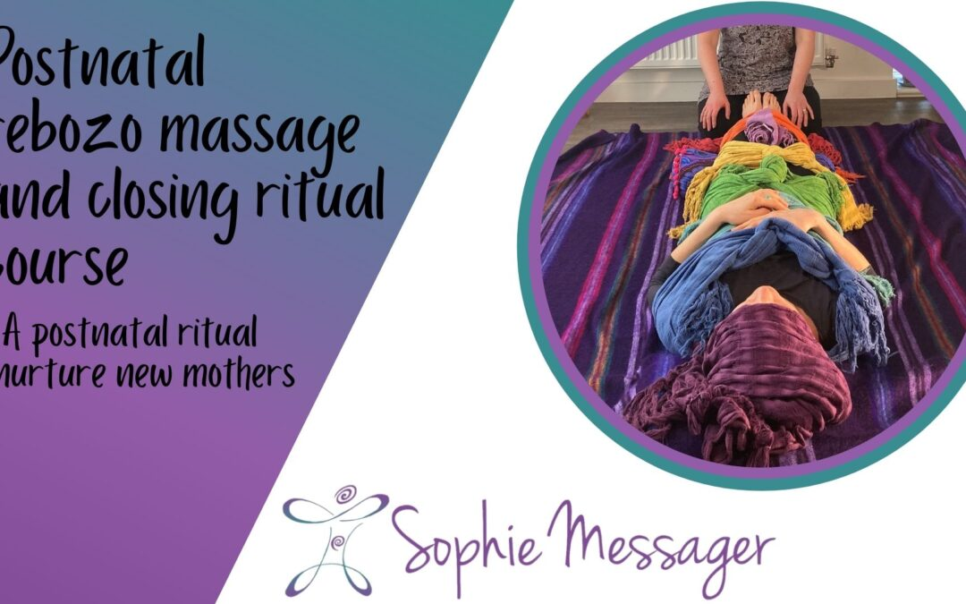 Why I am creating a rebozo massage and closing ritual online course